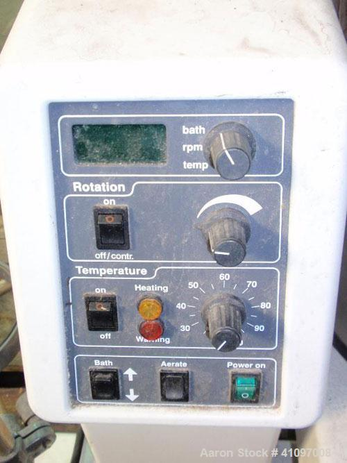 Used- Buchi Rotovap Rotary Evaporator, Model R-153, with heated water bath, 20 liter glass evaporating flask, (2) 10 liter a...