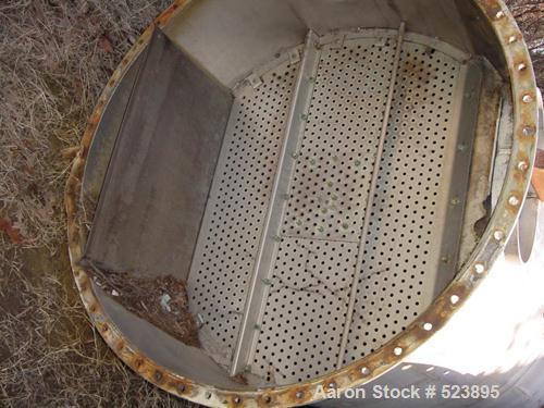 "USED: Evaporator / still. Includes (1) 25' high and (1) 16' high column, each 4'9"" diameter. (269) 1/2"" diameter holes per p..."
