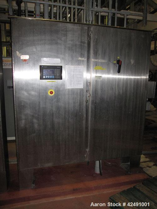 Used- Stainless Steel Ing. A. Rossi Double Effect Evaporator, Model VLT 12000
