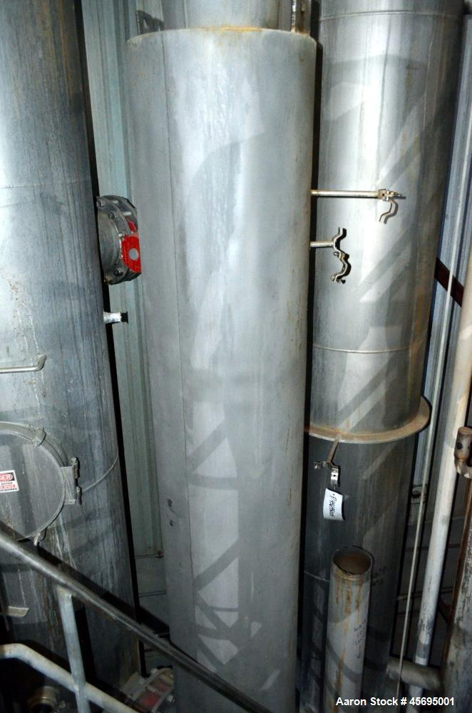 Used- Scheffers TVR Thermo Vapor Recompression 6 Effect Evaporator