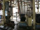Used-Ing A Rossi 3 Effect Evaporator, type ULTER 450/F. Triple effect continuous fractional evaporator, model ULTER, 316 sta...
