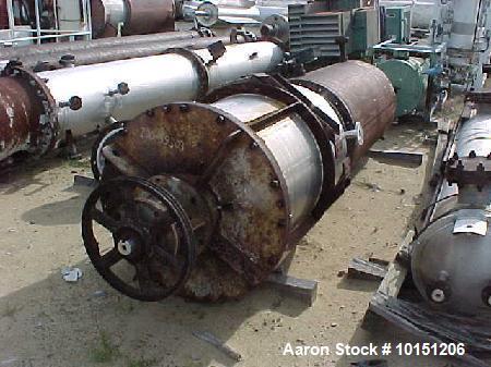 Used- Vertical Wiped Film Evaporator