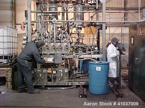 Used- Stainless Steel LCI Thin Film Evaporator