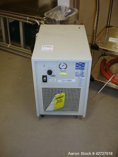 """Used- Pope Scientific Wiped Film Evaporator, .35 Square Feet. 2"""" Diameter, glass chamber, stainless steel rotor with Teflon ..."""