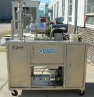 Used- Artisan Single Cylinder Thin Film Evaporator, Model Protherm 50.  .5 square feet, horizontal, 316 stainless steel cont...