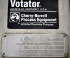 Used- Votator Turba-Film Agitated Thin Film Evaporator, Model 18-072, 316L Stainless Steel.  26 Square feet heat transfer ar...
