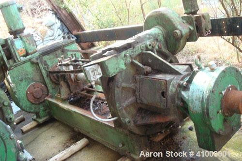 """Used-Anderson Expeller, 55"""" Duo. 1.5 to 2 tons of meal and oil per hour, capacity 5054. Manufactured circa 1960. Having a 6""""..."""