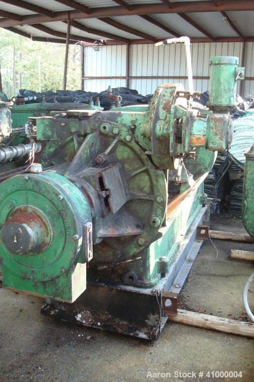 "Used-Anderson Expeller, 55"" Duo. 1.5 to 2 tons of meal and oil per hour, capacity 8831. Manufactured circa 1960. Having a 6""..."