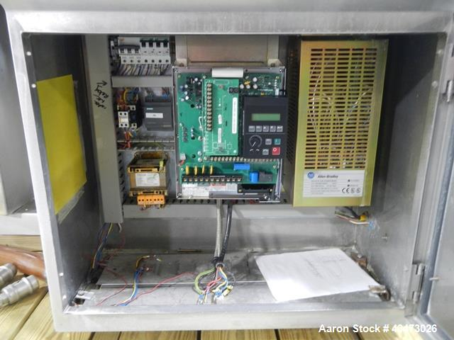 Used- Stainless Steel Caleva Spheronizer