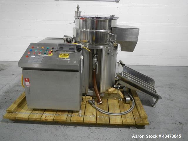 Used- Stainless Steel Caleva Spheronizer, Model 700