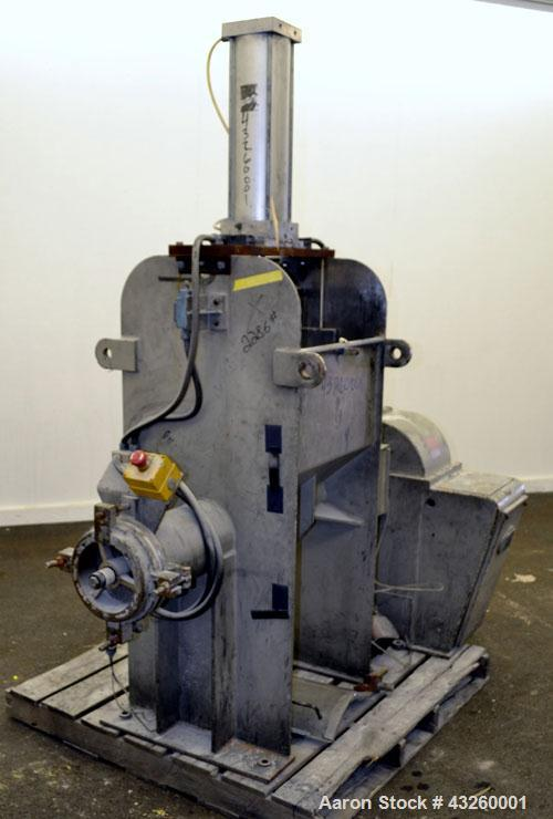 Used- Stainless Steel AMK Ram Fed Extruder