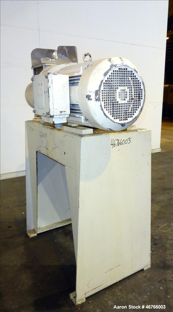 "Used- Bonnot Co. Single Screw Extruder, Model 8.5 SPEC. Approximate 8-1/2"" diameter x 25"" long screw, approximate 2.9 L/D ra..."
