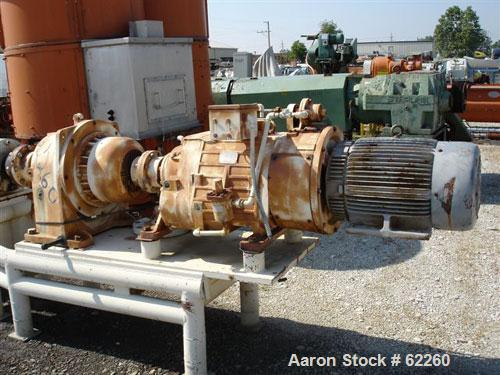 "Used- Bonnot Type 6"" Continuous Cooking Extruder. Stainless steel contact parts. 6 Jacketed barrel sections 24-1/2"" long rat..."
