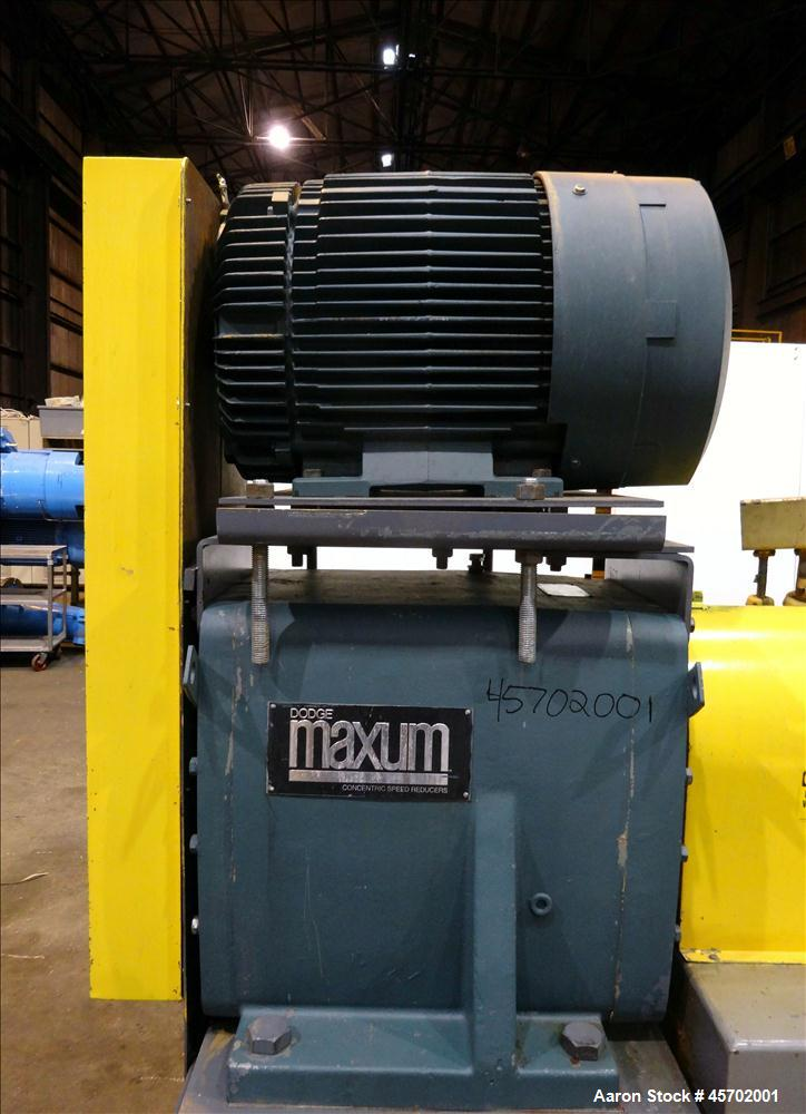 Used- The Bonnot Co. Model 10 EXT Single Screw Extruder, Carbon Steel.