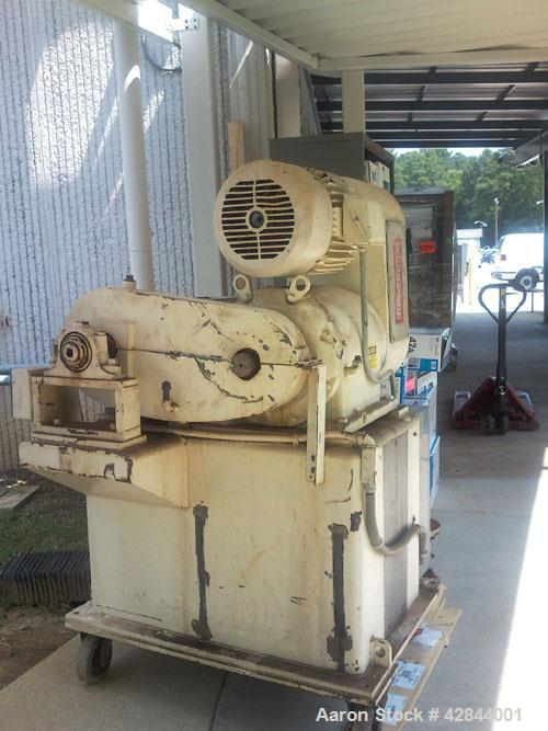 Used-Bonnot Single Screw Extruder, model 2-1/4, carbon steel.