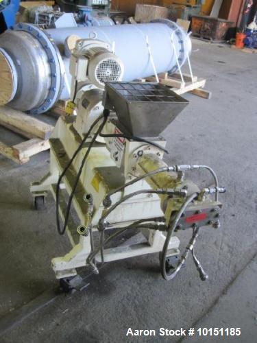 Used- Bonnot Co. Extruder, Model 2extr-w-pkr