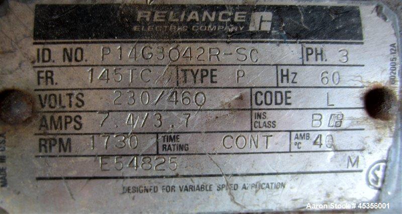 "Used- Bonnot Extruder, Model 4"""