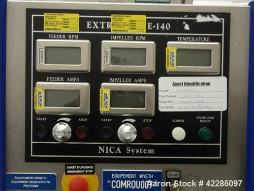 Unused- GEA Nica System Extruder, Model E-140. Stainless steel construction, serial# 08014.1310, new 2008.
