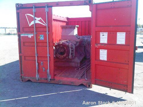 Unused JC Steele Pugmill and Extruder.Double tank vacuum unit, model 50PMS & 50EX.(2) 75 kW E motors.Used for manufacturing ...