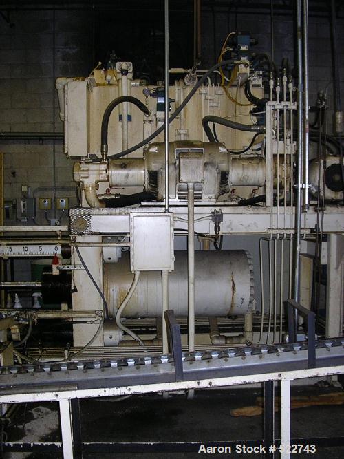 USED: Lombard EL1262 extrusion press, 300 ton. 1994.