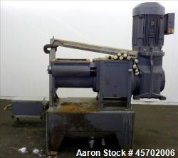 "Used- The Bonnot Co. Model 10 EXT Single Screw Extruder, Carbon Steel. 10"" Diameter x 72"" long screw, 7 to 1 L/D ratio. 20"" ..."