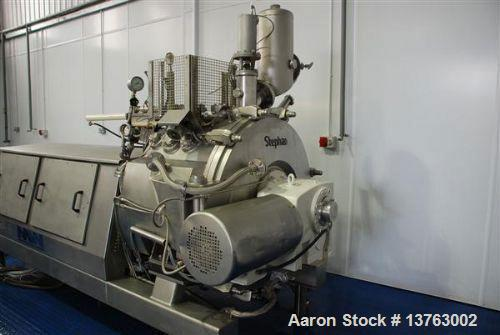 Used-Stephan TC 600 Mixer/Cooker Food Extruder. Produced 1995 with 127 kW (170 hp) motor, up to 2700 liters (715 gallons) pe...