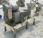 Used-  Bonnot Extruder, Model 2209, Carbon Steel.  Approximately 4