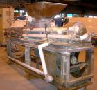 USED- Bonnot Type Extruder, Carbon Steel. (2) Approximately 8