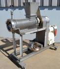Used- Bonnot Type Extruder, Approximately 5 to 1 L/D Ratio, 304 Stainless Steel. Approximately 5-3/4