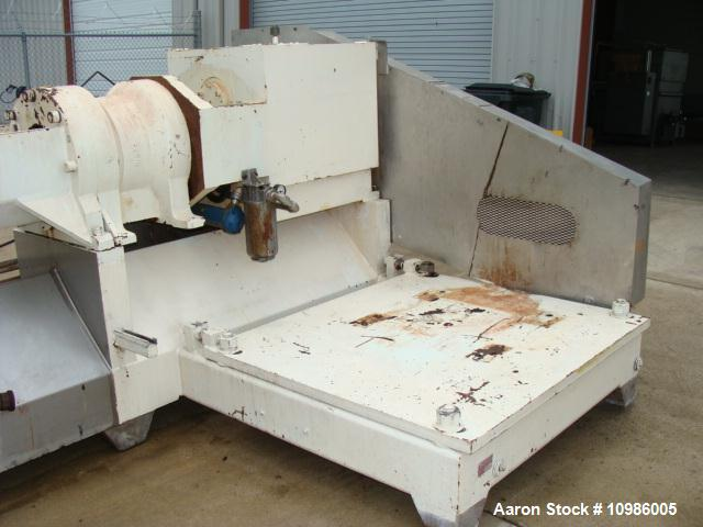 Used- Wenger Twin Screw Extruder, Model 56005