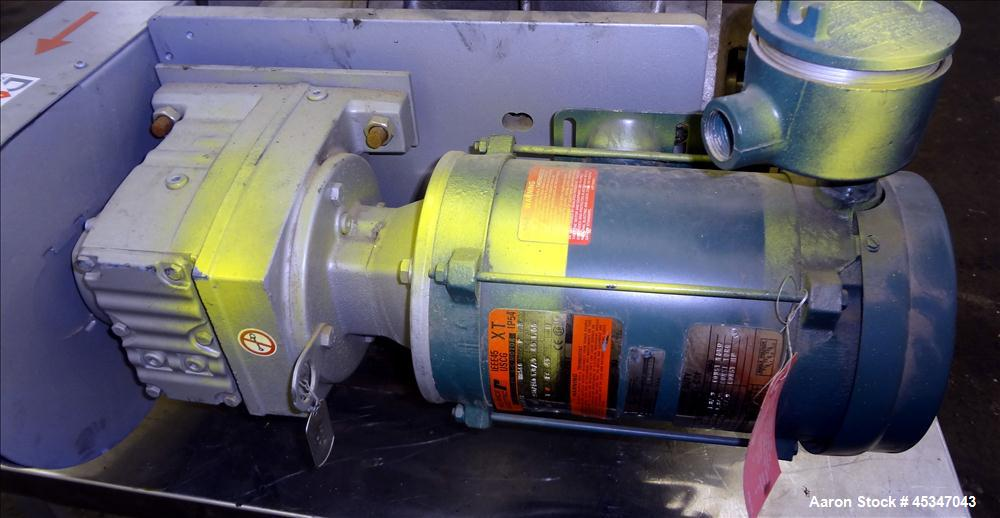 Used- Rotary Valve for Super Sack Filling Package Bay