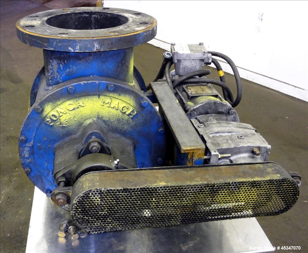 Used- Ponca Machine Rotary Valve, 304 Stainless Steel.