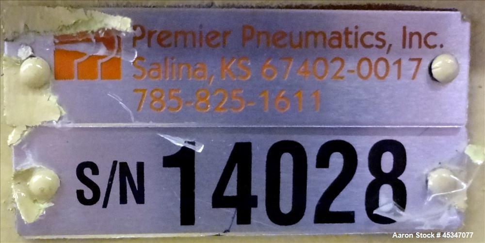 Used- Premier Pneumatics Inc. Rotary Valve