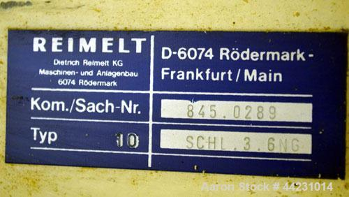 Used- Carbon Steel Reimelt Hopper Discharge Cone, Model 894
