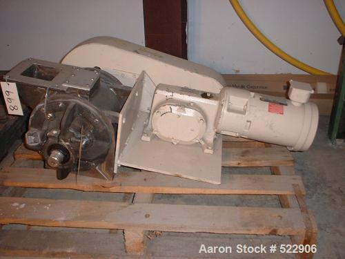 Unused-UNUSED: Side entry variable speed rotary valve, Sprout Waldron size0806 MSI. Deep pocket, fix tip rotor, stainless st...