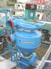 USED:Kongslide rotary valve, model CAD20-II. Includes hopper and anapprox 1 hp top mounted blower.