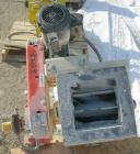 USED: Mac multi duty rotary air lock, model MD40, carbon steel. 10