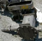 Used- Semco Rotary Valve, Model OBRV-02, Cast Iron Housing. Approximate 8