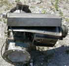 Used- Semco Rotary Valve, Model OBRV-02, Cast Iron Housing. Approximate 8