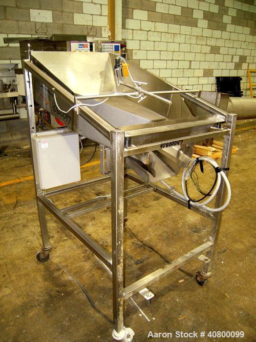 Used- Stainless Steel Vibratory Feeder