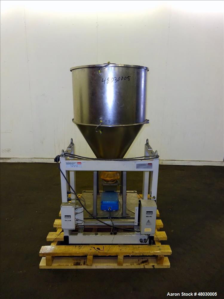 Used- Brabender Vibrating Tray Loss-in-Weight Feeder, Model DDW-H32-DVT120-150.