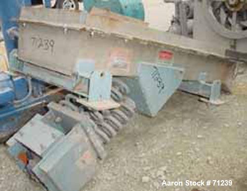 Used- Stainless Steel Ampli-Flow Vibrating Feeder, Model FC2410051/4304