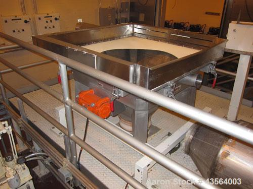 Used- Control & Metering Vibrating Hopper, Model FC-H/3541