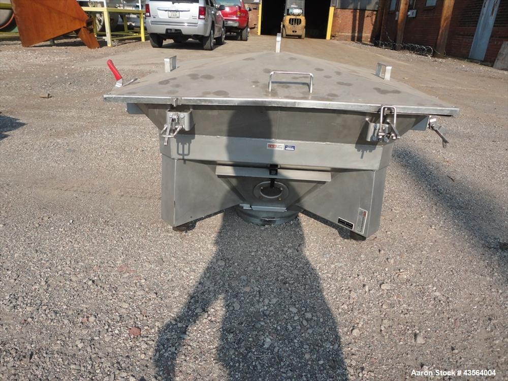Used- Stainless Steel Control & Metering Vibrating Hopper, Model FC-H/3541