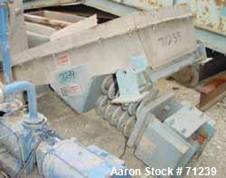 Used- Stainless Steel Ampli-Flow Vibrating Feeder, Model FC2410051/4304