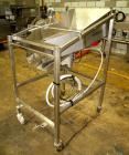 Used-Vibratory Feeder, stainless steel. 26