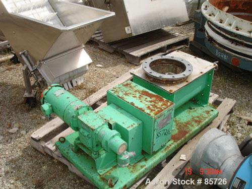 "USED: Acrison volumetric feeder, model 105Z-H, 316 stainless steel. 2-3/4"" diameter x 36"" long metering auger, (1) intromitt..."