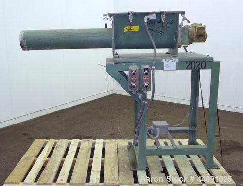 "Used- Acrison Volumetric Feeder, Model 130-S/2, 304 Stainless Steel. Approximate 6"" diameter metering auger. Feed rate appro..."