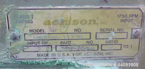 Used- Stainless Steel Acrison Weigh Auger Feeder, Model 203B-105Z-M