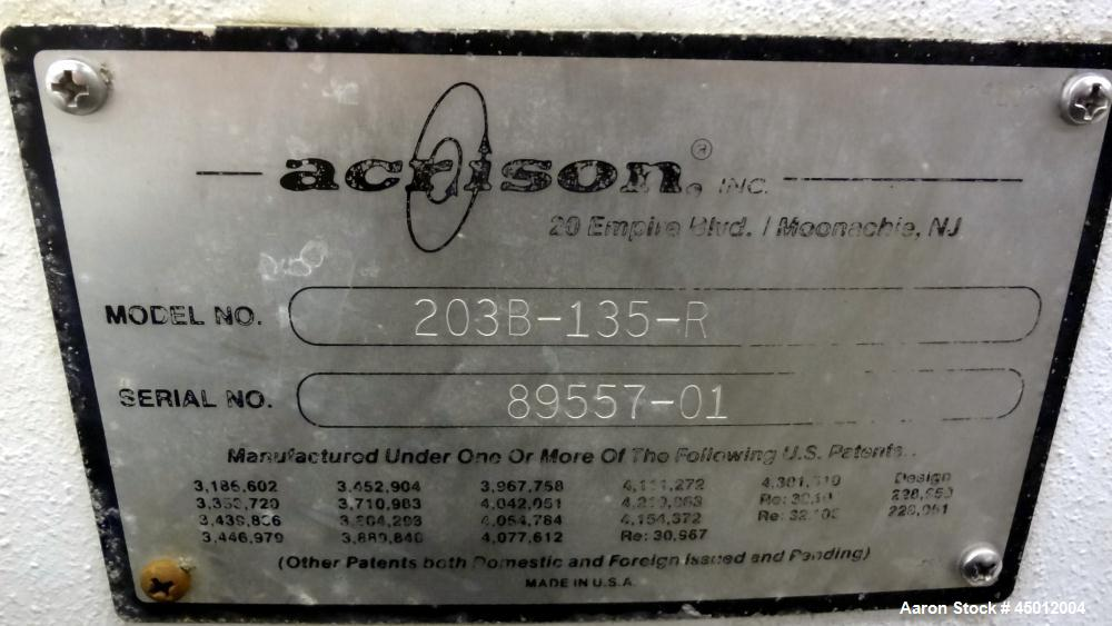 Used- Acrison Weigh Auger Gravimetric Feeder, Model 203B-135-R